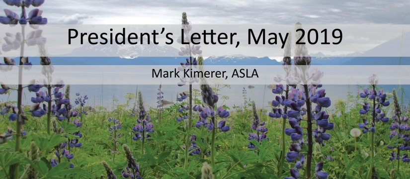 Pres Letter May 2019